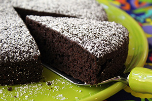 Zucchini Chocolate Cake – No Butter