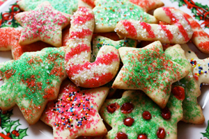 Healthier Christmas Sugar Cookies