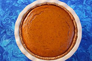 Healthier Easier Pumpkin Pie