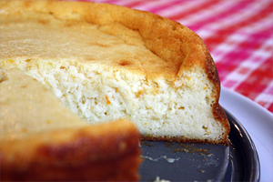 Light as a Cloud Ricotta Cheesecake
