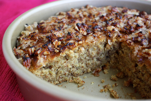 Oatmeal Snacking Cake