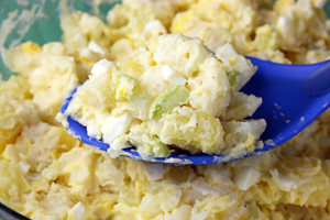 Lightened Up Potato Salad