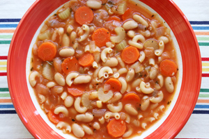 Quick & Easy Pasta Fagioli