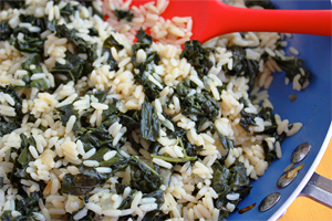 Rice with Kale