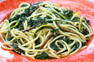 Spaghetti With Chard