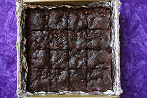 Whole Wheat Chocolate Brownies