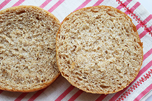 Soft Whole Wheat Sandwich Buns
