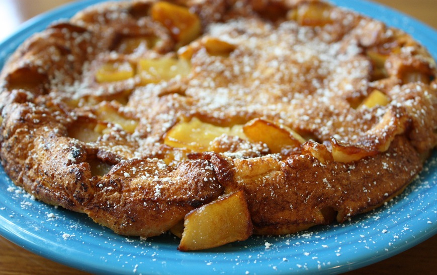Caramelized Apple Pancake