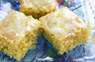 Easiest Lemon Brownies