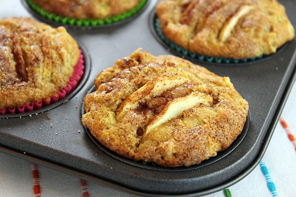 Whole Wheat Apple Muffins