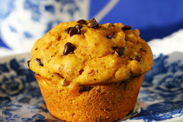 Pumpkin Chocolate Chip Muffins Jenny Can Cook