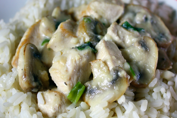 Essy Recipe Chicken & Mushrooms