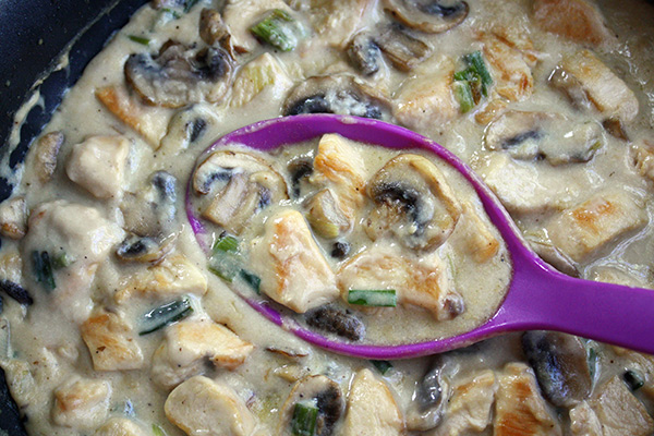 Easy Chicken & Mushrooms