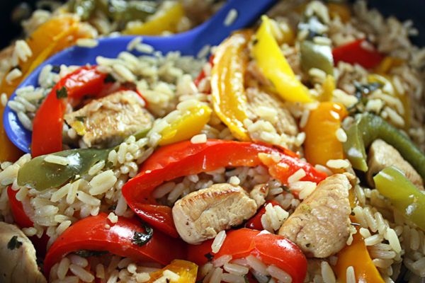 Chicken & Peppers Recipe