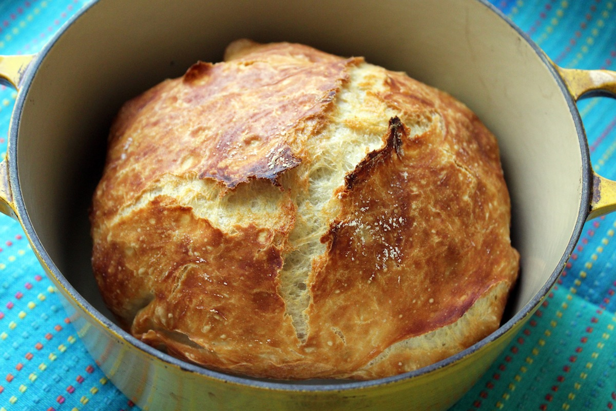 Fast & Easy No Knead Artisan Bread