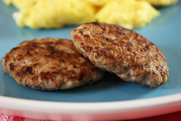 Turkey Apple Breakfast Patties