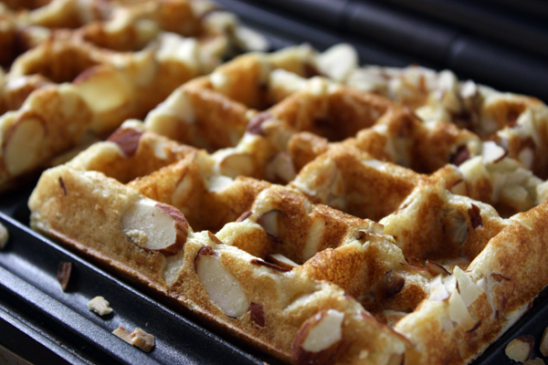 Whole Wheat Waffles From Scratch
