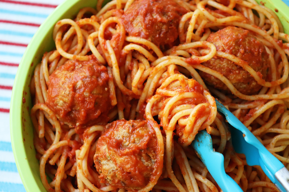 Easy Spaghetti & Meatballs from Scratch