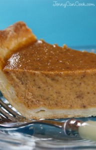 Pumpkin Pie Without Butter
