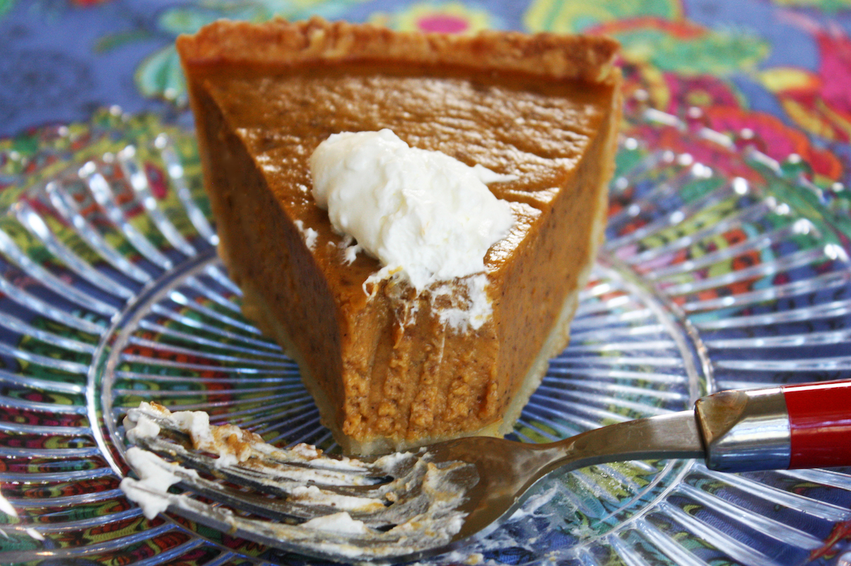 Best Recipe Pumpkin Pie from Scratch