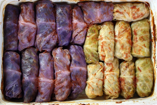 Red Cabbage Rolls
