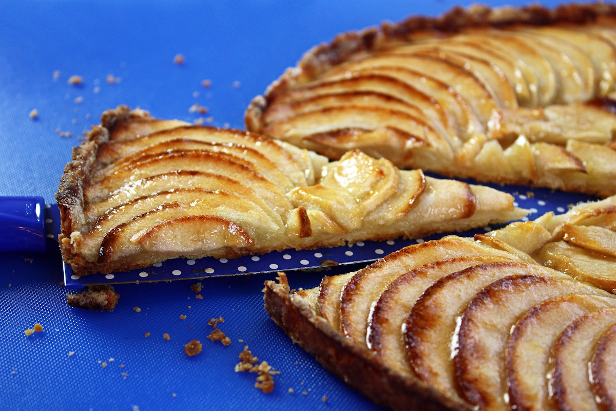 Crispy Apple Tart Recipe