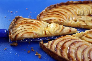 crispy apple tart