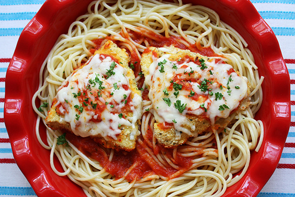 Oven Baked Chicken Parmesan Jenny Can Cook