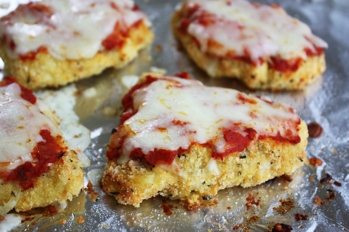 Easy Baked Chicken Parmesan