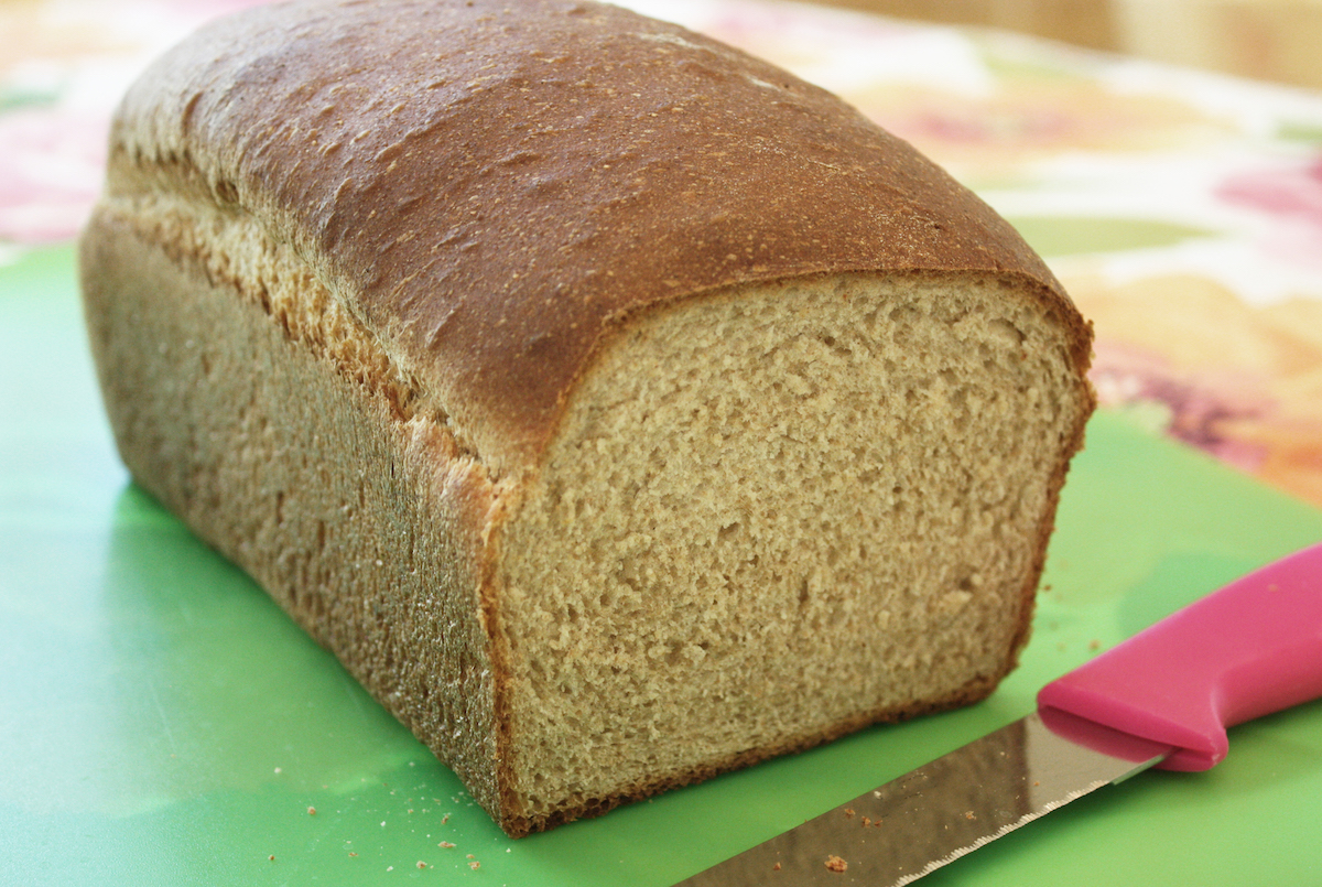 Jenny's Simple Whole Wheat Bread