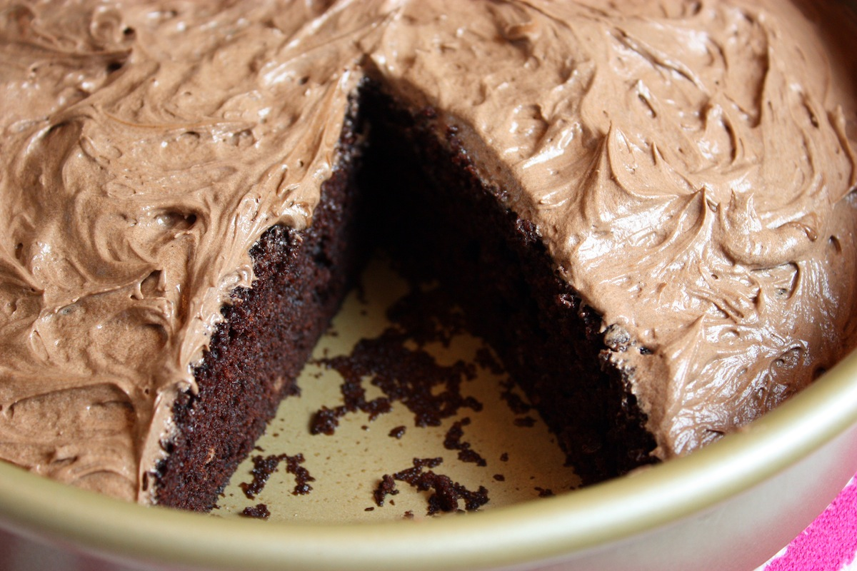 Easy One Bowl Chocolate Cake recipe from Jenny Jones | Jenny Can Cook