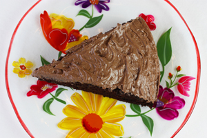 Easy One Bowl Chocolate Cake