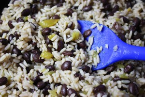 Fast Rice & Beans