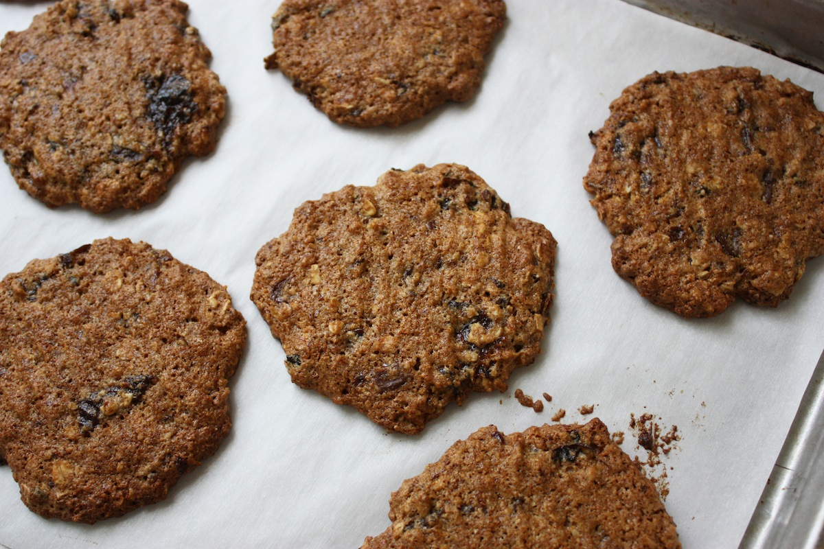 High Fiber Breakfast Cookies