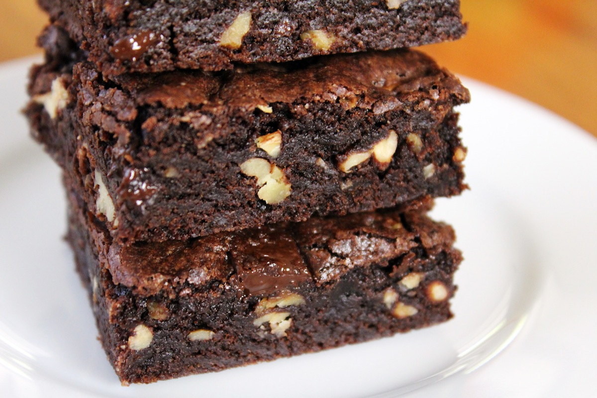 Fudgy Brownies No Butter, Healthy Brownies | Jenny Can Cook