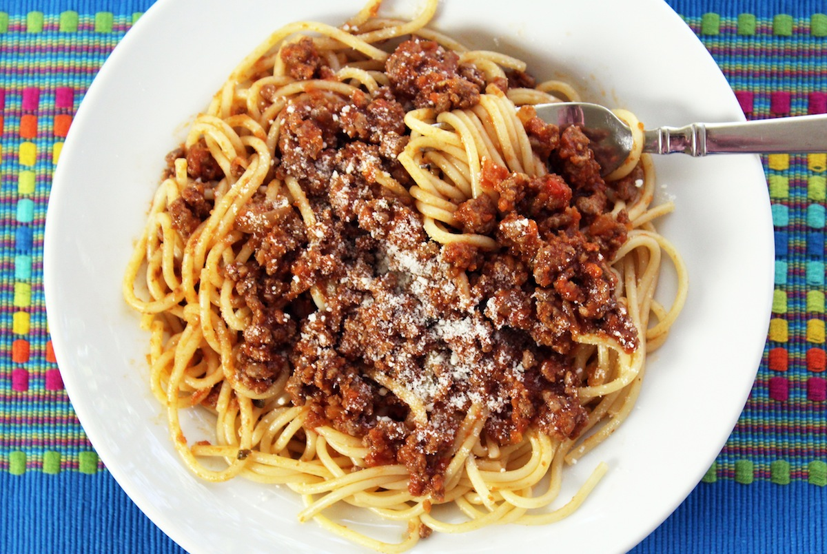Easy Simple Meat Sauce Recipe