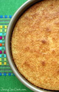 Easy One Bowl Yellow Cake
