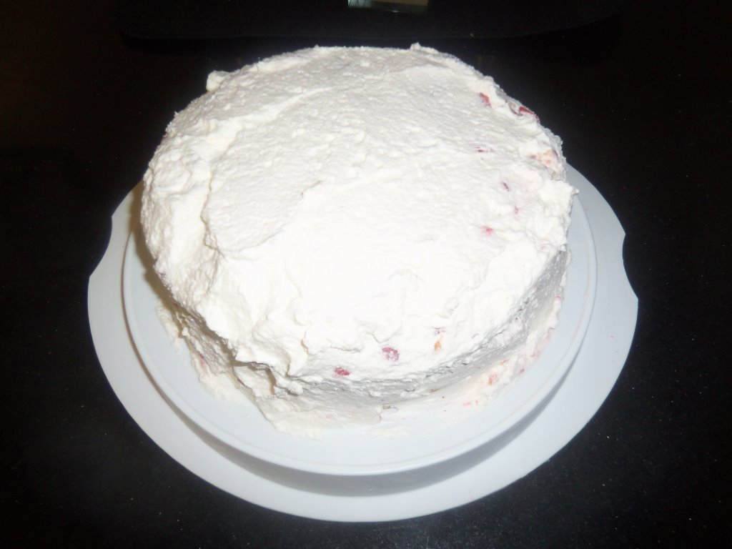 Jenny's strawberry cake