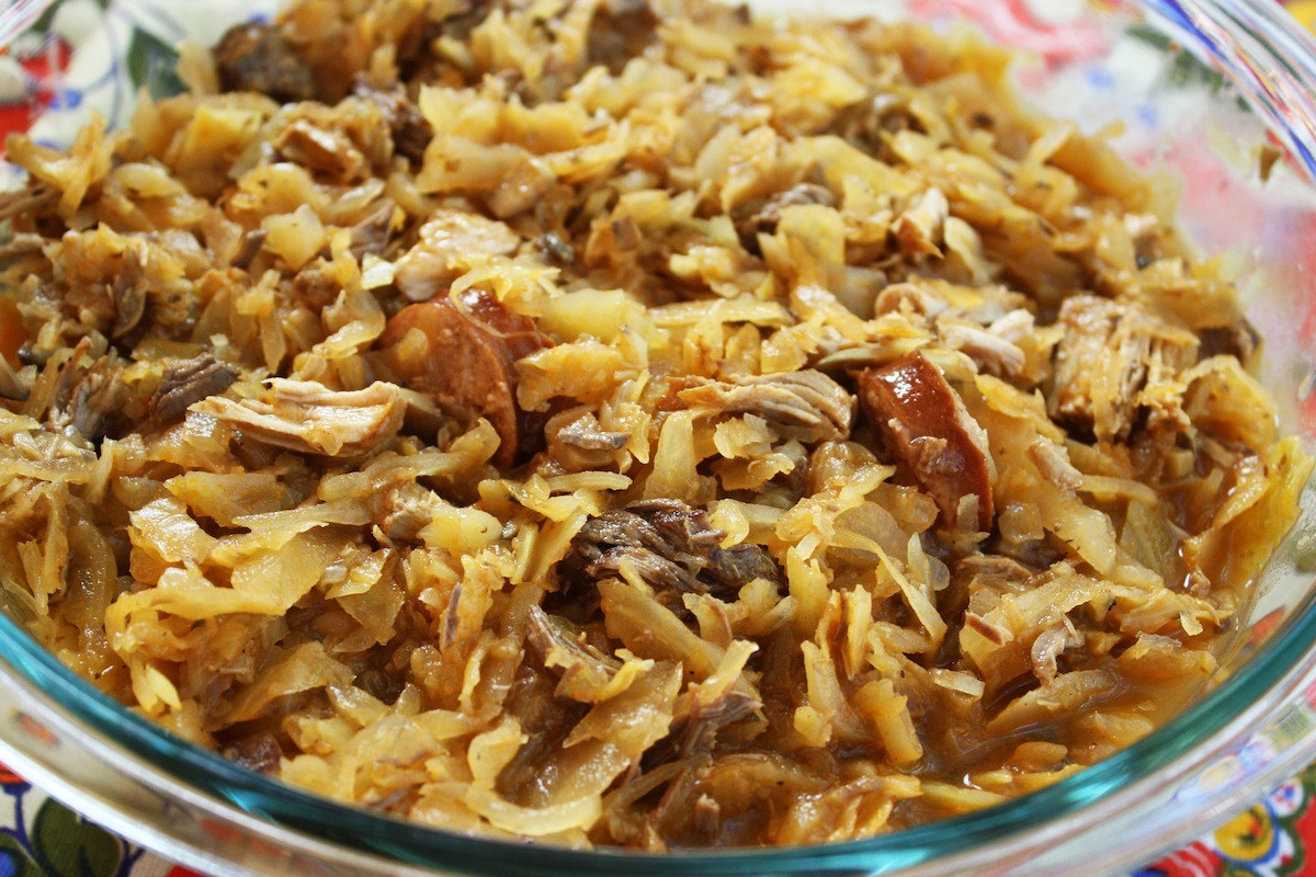 Polish Hunter's Stew Bigos