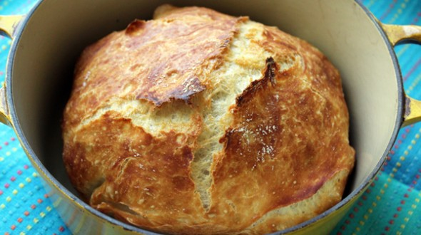 Faster No Knead Bread - Jenny Can Cook