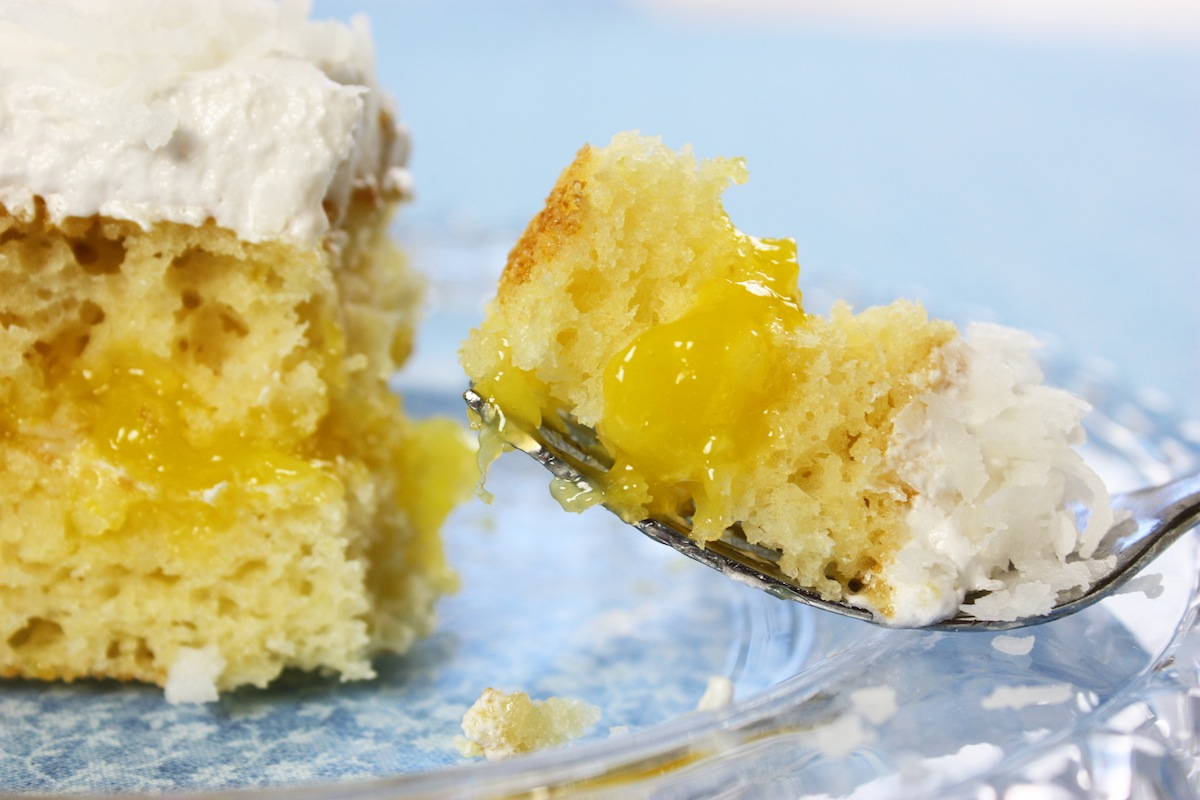 Lemon Coconut Cake No Butter
