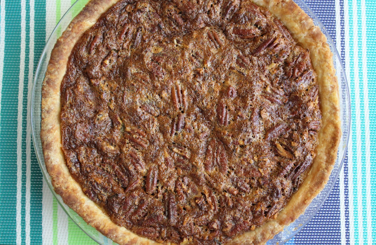 Easy Pecan Pie With Oil Crust