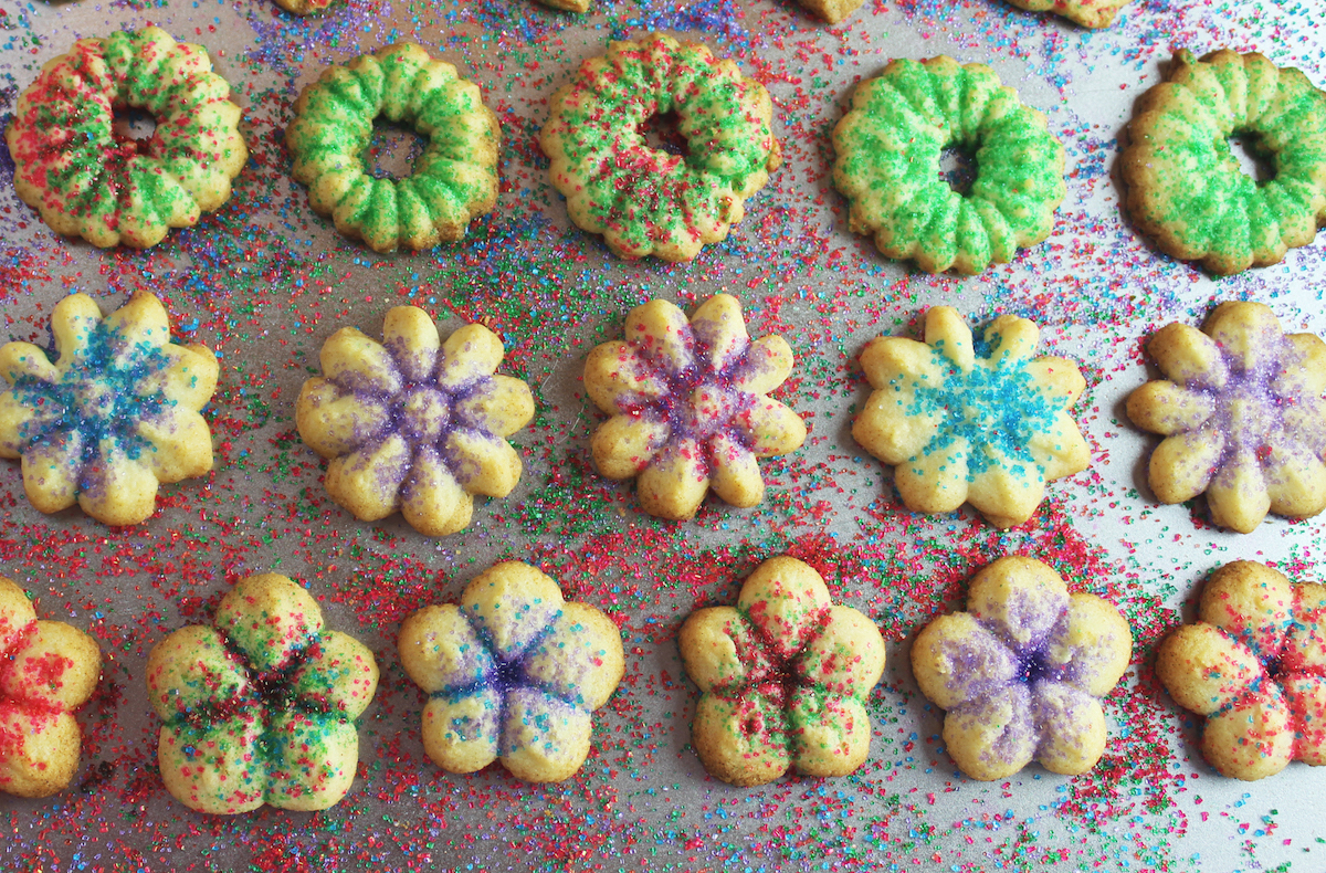 Christmas Sugar Cookies Less Butter