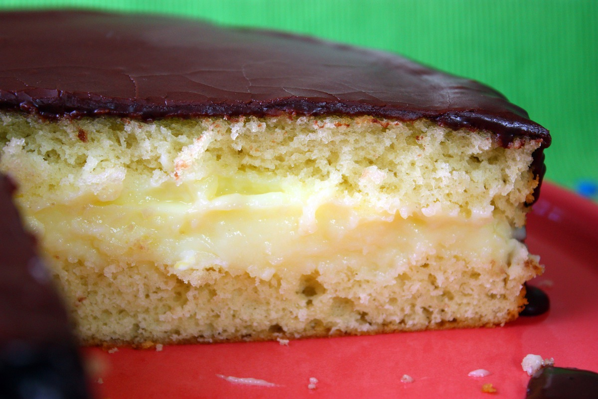 Healthier Boston Cream Pie Recipe