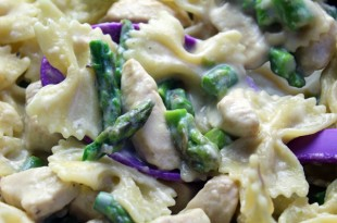 Creamy Chicken Asparagus Bowties