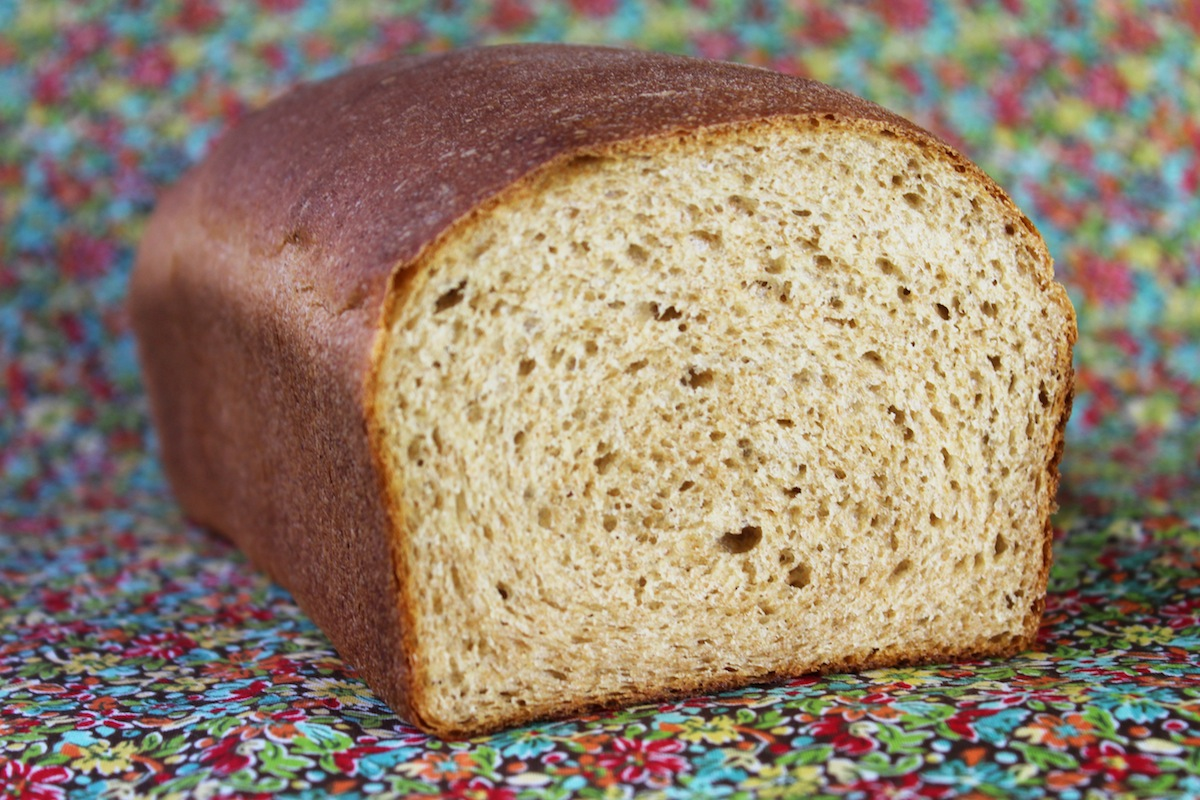 Easy One Rise Honey Wheat Bread