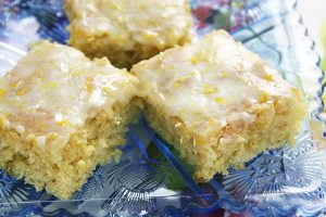 One Bowl Lemon Brownies