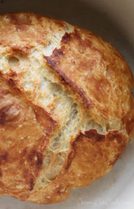 Faster No Knead Bread