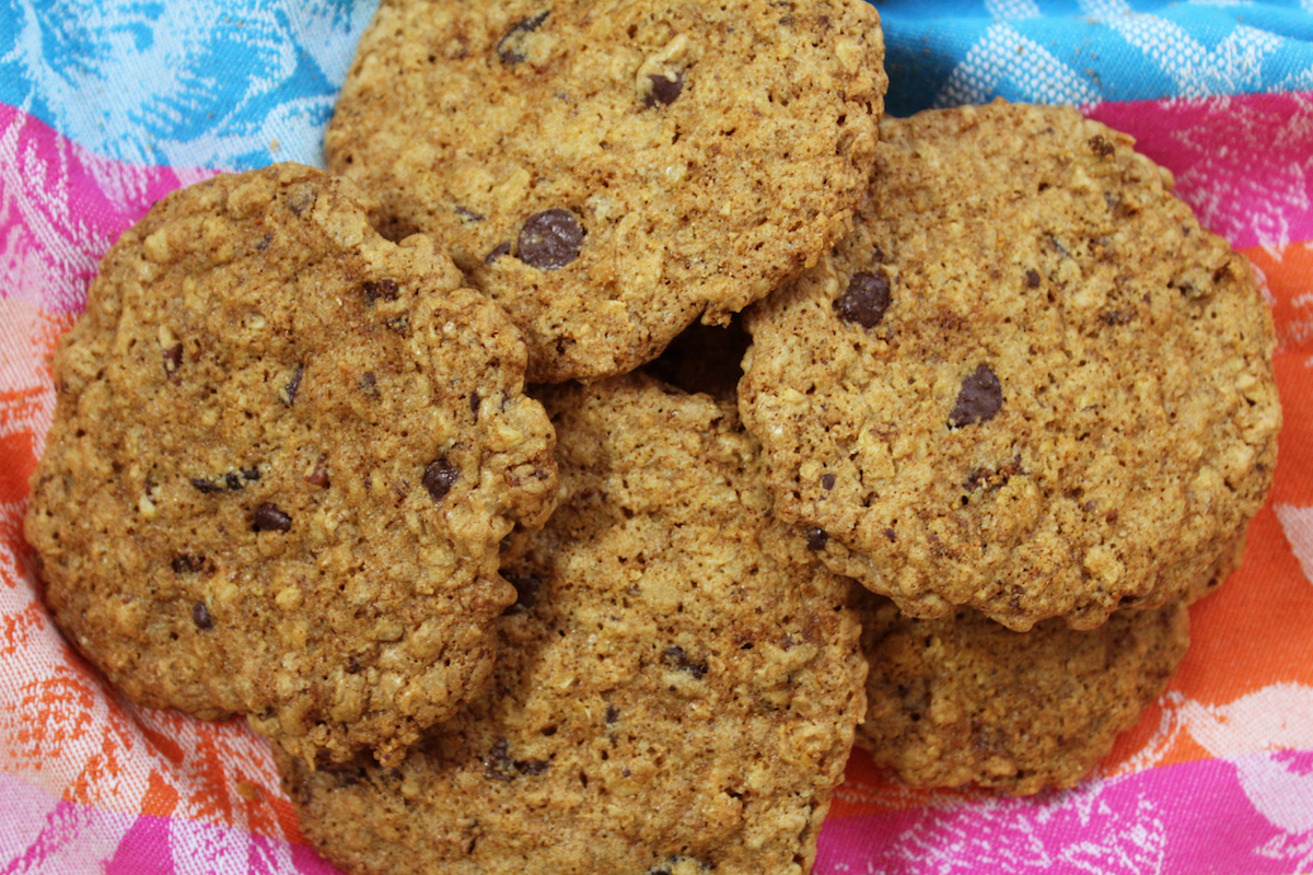 High FIber Cookies, Healthy Cookies