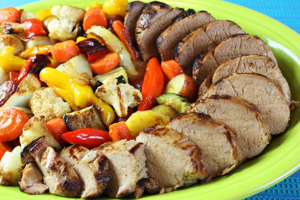 Easy Recipe Pork Tenderloin With Vegetables